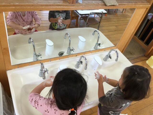 手洗い(本園 うめ)
