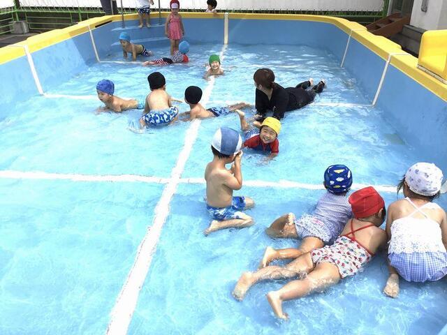 「プール遊び、楽しかったね!」(本園 さくら1組)